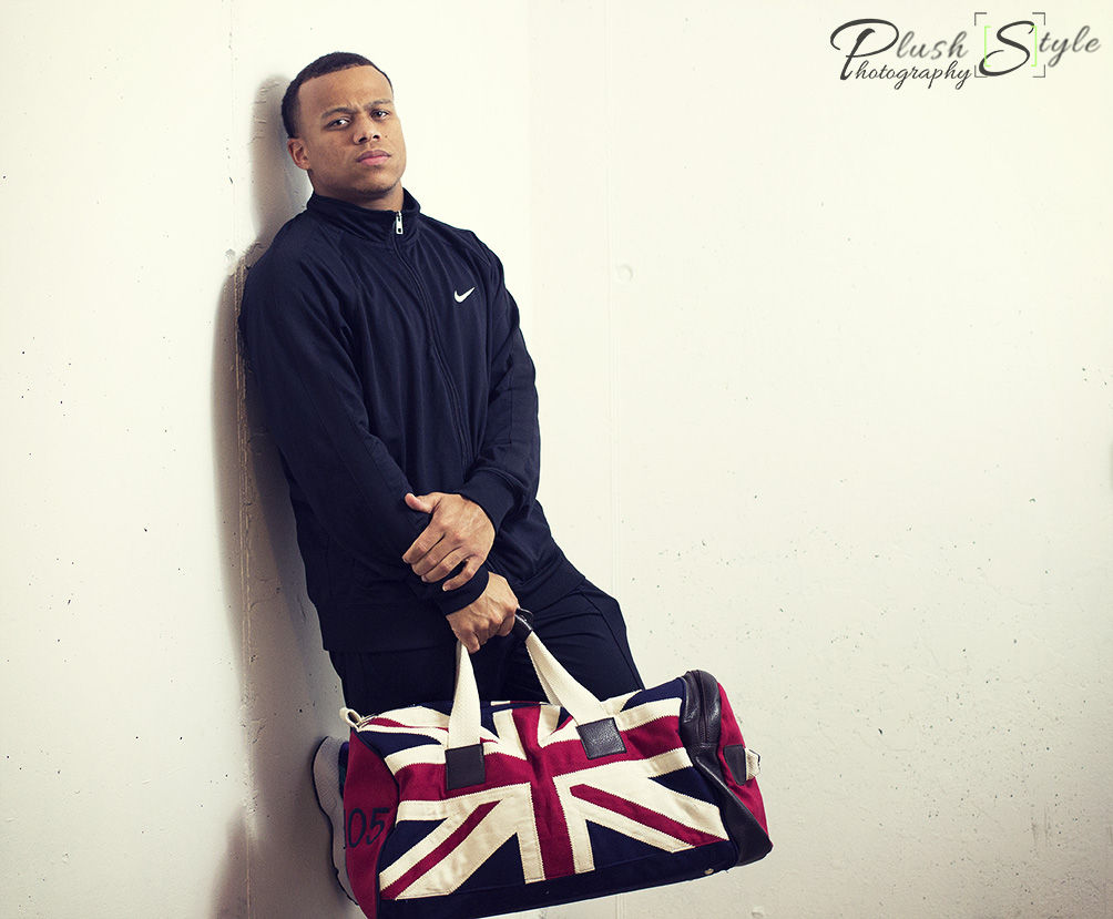 Terrance with weekend duffle image